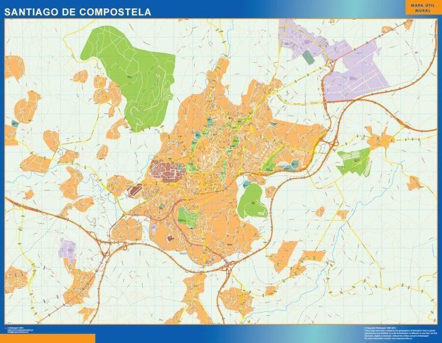Mapa Magnetico Santiago De Compostela
