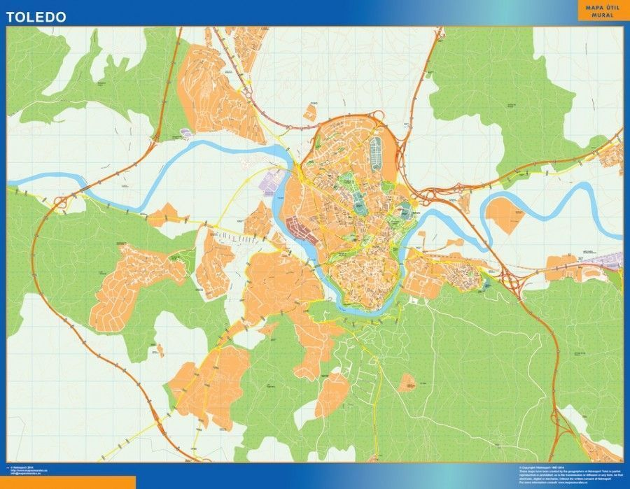 Mapa Magnetico Toledo