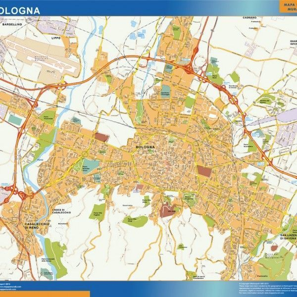 Mappa Magnetica Bologna