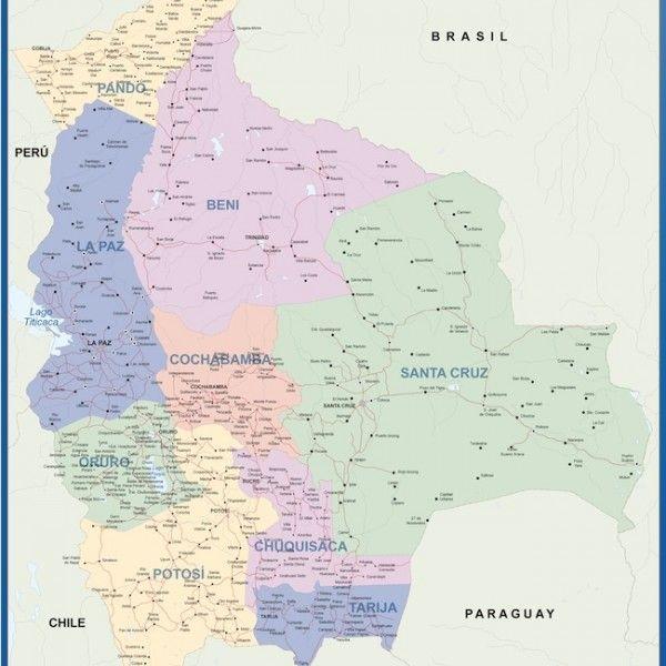 bolivia vinyl sticker maps