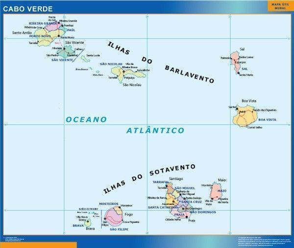 magnetic map Cabo Verde
