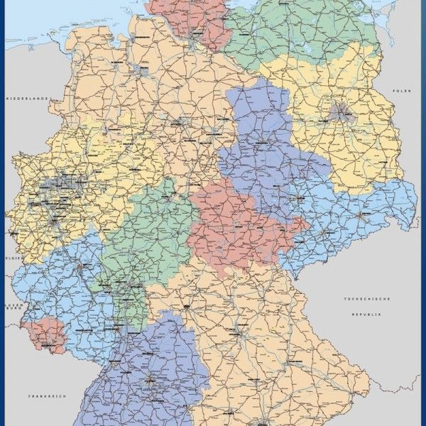 magnetic map germany