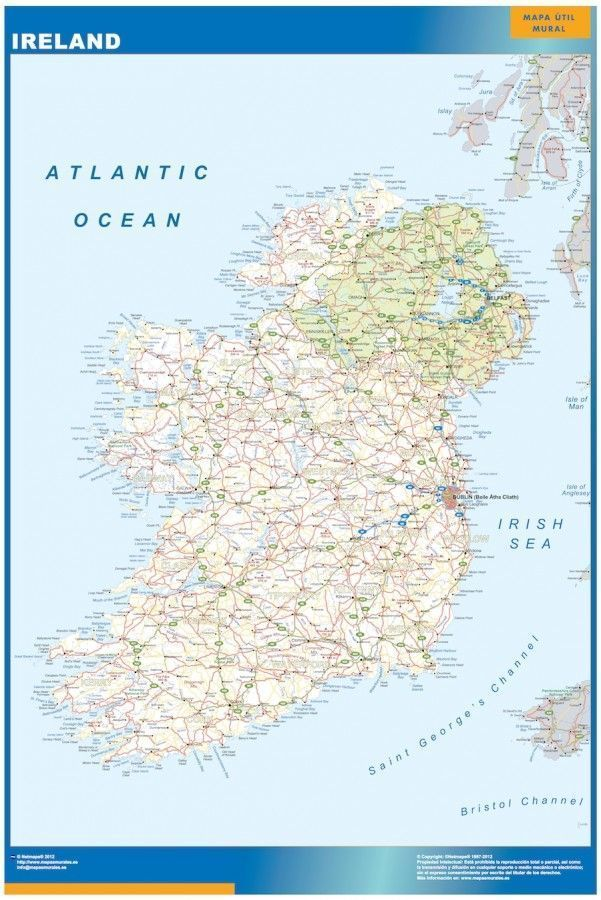 magnetic map ireland