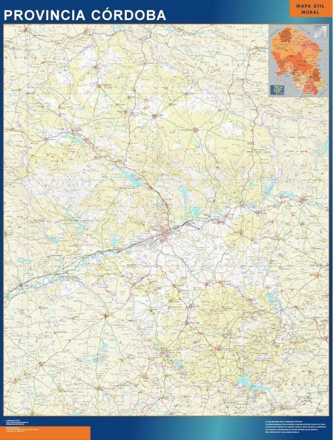 mapa provincia cordoba magnetico