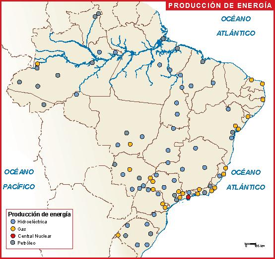 Brasil mapa energia