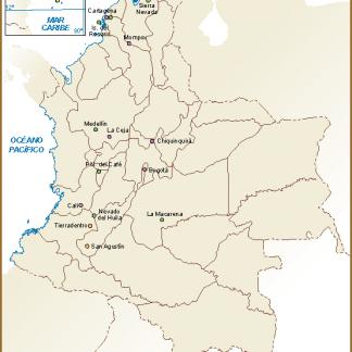 Santa Marta Colombia Mapa.Mapa Santa Marta Digital Maps Netmaps Uk Vector Eps