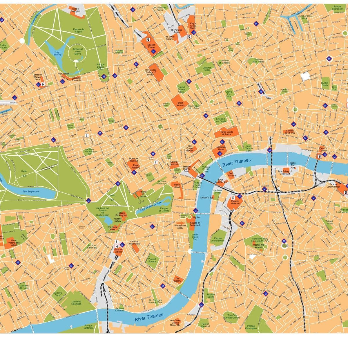 Easy London Map.London Vector Map Digital Maps Netmaps Uk Vector Eps Wall Maps