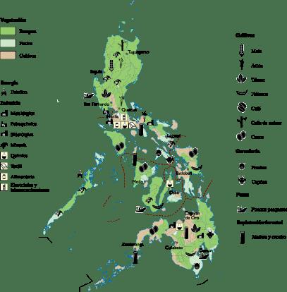 Philippines Economic map
