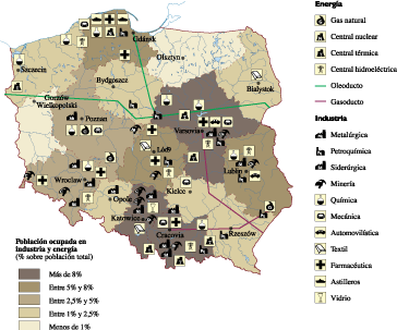 Poland Economic map