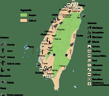 Taiwan Economic map