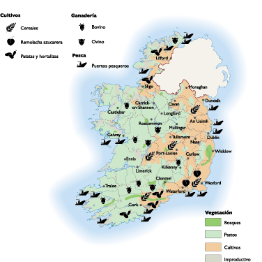 Ireland Land Use map