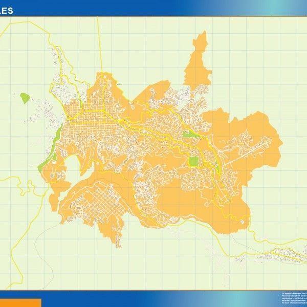 Mapa Manizales