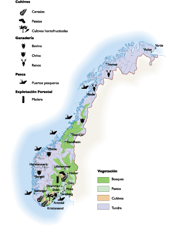 Norway Land Use map