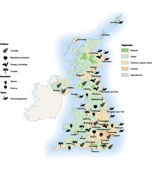 United Kingdom Land Use map